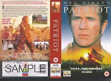 The Patriot, Mel Gibson Video Promo Sample Sleeve/Cover #9773