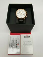 Tissot Chemin Des Tourelles Rose PVD Silver Dial Chronograph T099.427.36.038.00