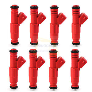 8x Fuel Injector M-9593-BB302 0280150945 For Chevy Ford Pontiac V8 4.6 5.0L 5.7L
