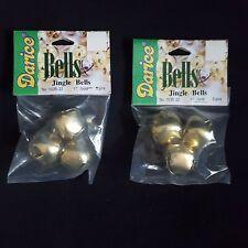 Darice Craft Jingle Bells 1 Inch Gold 6 Pcs Total