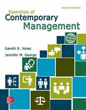 Essentials of Contemporary Management 7th Edition (PDF only)
