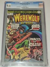 WEREWOLF BY NIGHT #36 CGC 9.6 WHITE PAGES MARVEL COMICS 1976 (SA)