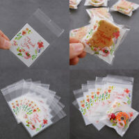 Flower Baking Biscuit Packaging Bag Wrapping Supplies Candy Pockets Cookie Bags