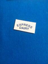 (Tr 113) DINKY 490 VAN EXPRESS DAIRY - transfert / tranfer BLEU
