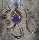 Shriner Jewelry Lot 1998 Dale Potentate Al Bahr California bolo pins earrings