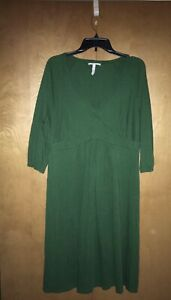 Green Maternity Dress By Old Navy SizeL