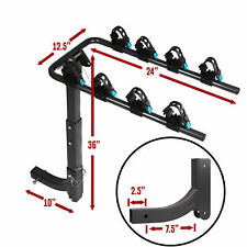 "Swing Away Hitch Mount Bike Rack for 4 Bikes  - Fits 2"" Receivers, Free Shipping"