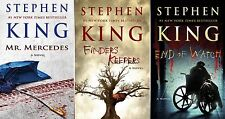 Stephen King BILL HODGES Trilogy Series Collection Set Books 1-3 BRAND NEW!