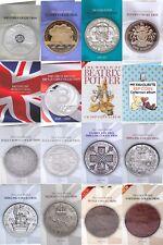 More details for british coin hunt collectors albums £5 £2 50p 10p pre decimal silver copper [c]