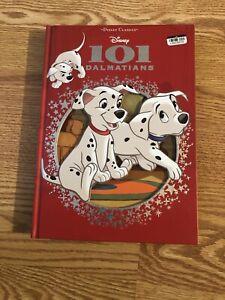 DISNEY CLASSICS: 101 DALMATIANS DIE-CUT HARDCOVER BOOK CHILDREN READING