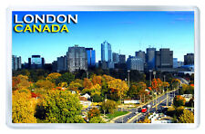 LONDON ONTARIO CANADA FRIDGE MAGNET SOUVENIR IMAN NEVERA
