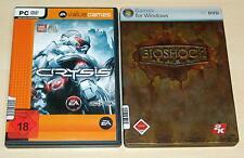 2 PC SPIELE SET - CRYSIS & BIOSHOCK - FSK 18