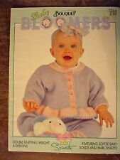 BOUQUET Baby Bloomers #1244 baby knitting patterns