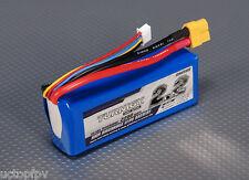 Turnigy 3S 2200mAh Lipo Battery Pack 11.1v 12v 20-30C 3 cell DJI Phantom FPV USA