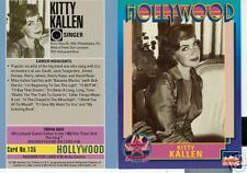 Kitty Kallen Hollywood Walk Of Fame card number 135