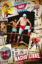 POSTER:MOVIE REPRO: NICKELODEON'S NACHO LIBRE - RING    FREE SHIP #8742 LP56 Q c
