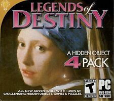 SILENT SCREAM THE DANCER Hidden Object LEGENDS OF DESTINY 4 PACK PC Game DVD NEW
