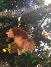 FuzzyNation Novelty Basset Wristlet / Christmas ornament