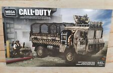 Brand New Sealed Mega Construx Call of Duty Heavy Tactical Cargo Truck