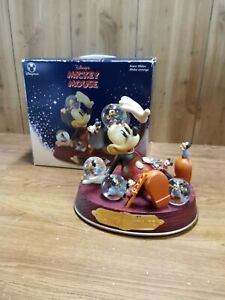 Disney Store Exclusive Mickey Mouse Mickey's Nightmare Musical Snowglobe in Box