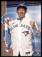 2020 Topps Series 2 Base Gold #449 Shun Yamaguchi /2020 - Toronto Blue Jays