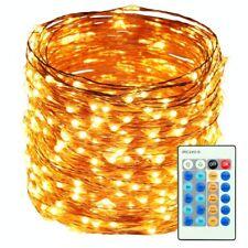 HaMi 66ft 200 LED String Lights,Waterproof Christmas Lights Fairy Lights with UL