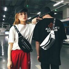 Teenager Fashion Hip Hop Fanny Pack Crossbody Bag Messenger Shoulder Waist Bag