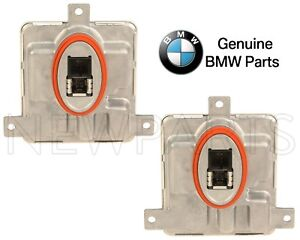 For BMW 328i xDrive 528i 535i Pair Set of 2 Control Units for Xenon Headlights