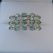 1.37ct Certified Natural Alexandrite & Diamond Gold Ring