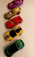 5 Vtg Cars Hot Wheels Matchbox Mattel Lotus Elise Racing Vehicles Collectibles