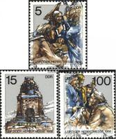 DDR 3193-3195 (kompl.Ausgabe) Ersttagssonderstempel gestempelt 1988 Leipziger Me