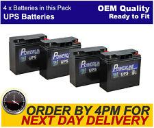 Powerline UPS Batteries for APC RBC11 RBC55 UPS