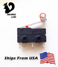 Microswitch Limit Switch Lever Arm Subminiature SPDT RepRap 3D Printer Endstop