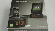Brand New Stem TimeCommand App-Enhanced Audio Alarm Dock for iPod, iPhone, iPad