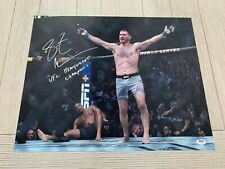 Stipe Miocic autographed signed inscribed 16x20 UFC PSA COA