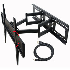 Articulating TV Wall Mount Tilt Swivel LED LCD Plasma32 40 42 46 50 55 60 65 BK7