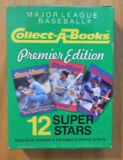 1990 Collect a Books Baseball Series 1 Box #3 Sealed 12 Book Set Lou Gehrig