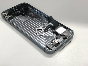 Genuine Apple iPhone 5S SPACE GREY Back Rear Chassis Housing Cover with Parts