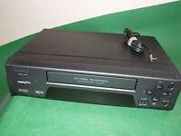 MATSUI VP9406 VCR VHS VIDEO CASSETTE RECORDER Vintage Black FAULTY SPARES