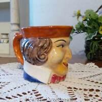 Unique Very Old Colonial Man Face Mug Coffee Cup Boston Tea Party