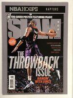 2020-21 NBA HOOPS VINCE CARTER SLAM COVER No.14 RARE INSERT SP 🔥