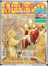 MEDIOEVO OTTOBRE 2000 - FRANCESCO D'ASSISI - TROVATORI PROVENZALI - PALAZZI