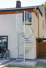 Außentreppe SCALANT 160, Wendel-/Spindeltreppe - feuerverzinkt
