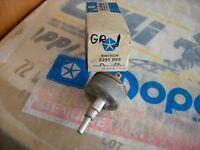 NOS MOPAR 1963 64 65 66 67 REAR DEFROSTER SWITCH GTX BARRACUDA DART FURY CHARGER