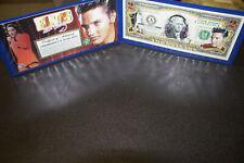 ELVIS PRESLEY Legal Tender USA $2 Dollar Bill WITH LASER AUTO ! W/COA