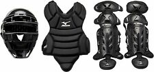 New Other Mizuno Prospect Youth Boxed Catchers Gear Set, Black
