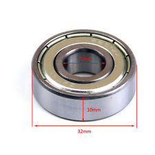 6201Z 12 x 32 x 10mm Metal Spare Parts Sealed Deep Groove Row Ball Bearings AU