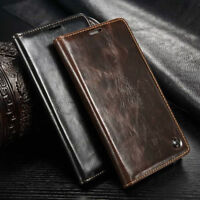 Luxury Leather Wallet Case Card Stand Magnetic Flip Cover for Samsung Galaxy S5