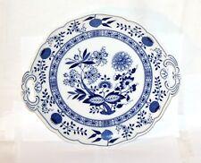 Hutschenreuther * Zwiebelmuster Blau * Kuchenteller mit Griffe * 29cm * 12147