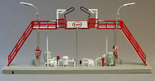 MTH TANK FILLING STATION ESSO train building scenery O GAUGE gas depot 30-90405
